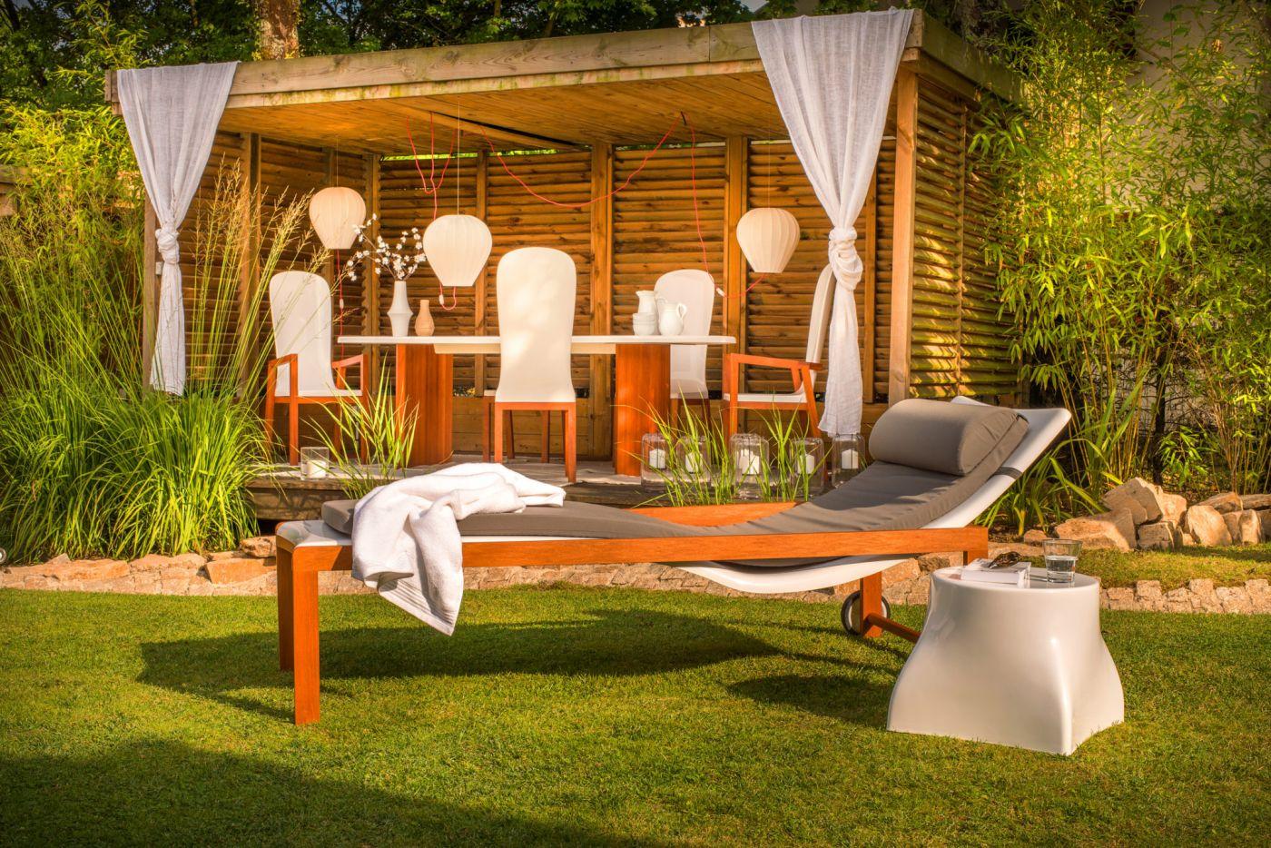 Mobilier jardin design : tables, chaises, bain de soleil ...