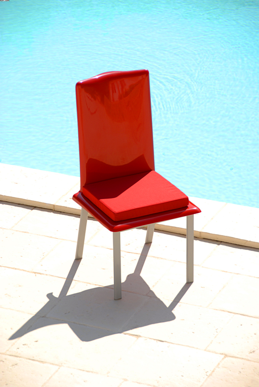 Chaise jardin moderne design passion Art'Mely