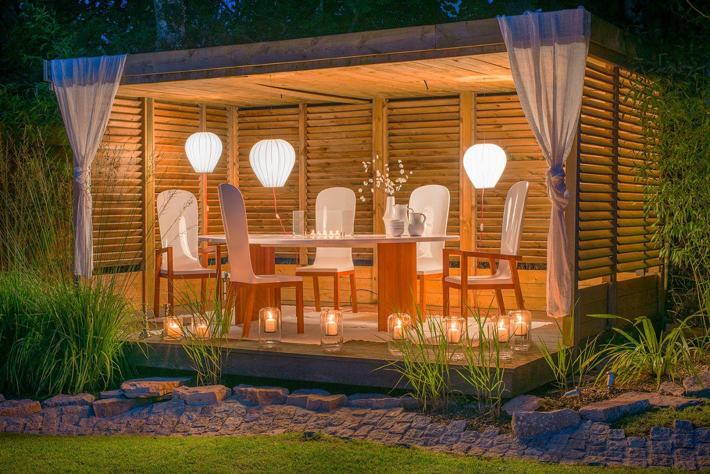 Fauteuil jardin design FJORD Art'Mely moabi composites