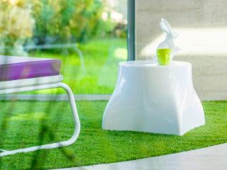 Pouf de jardin design Jumbo