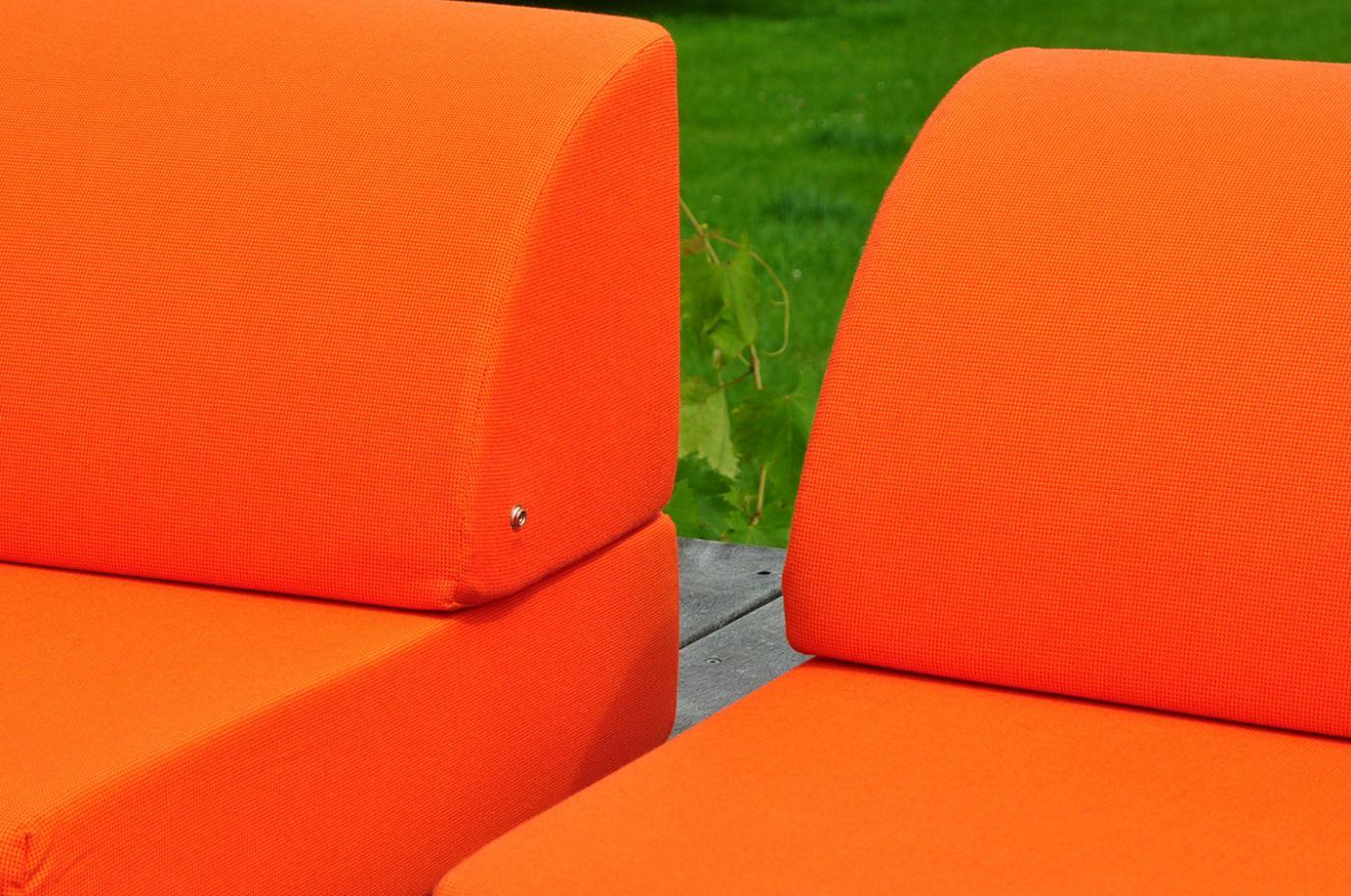 Pouf extérieur design dépliable Cube FJORD Art'Mely