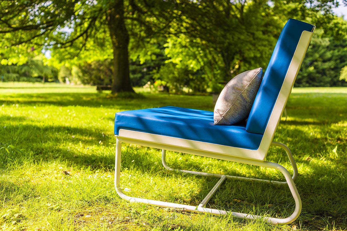 Fauteuil lounge d'extérieur design PURE PIKS Art'Mely