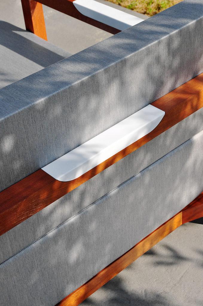meridienne exterieur design pour terrasse